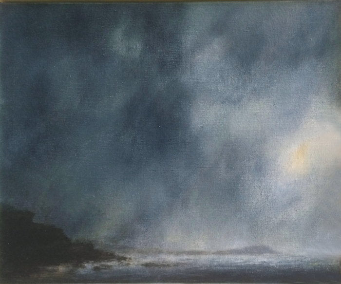 'Cloudburst, Shark Point' by Steffie Wallace [SOLD]