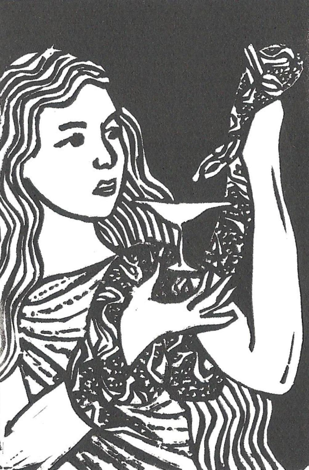'Hygeia' -Traditional Artist's Hand Pulled Print by Mellissa Read-Devine
