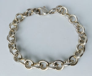 Unique Sterling Silver Charm Bracelet