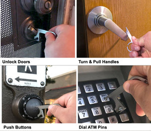 Stainless Steel No-Touch Key