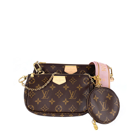 Louis Vuitton M44840 Multi Pochette Monogram VVN  Rose
