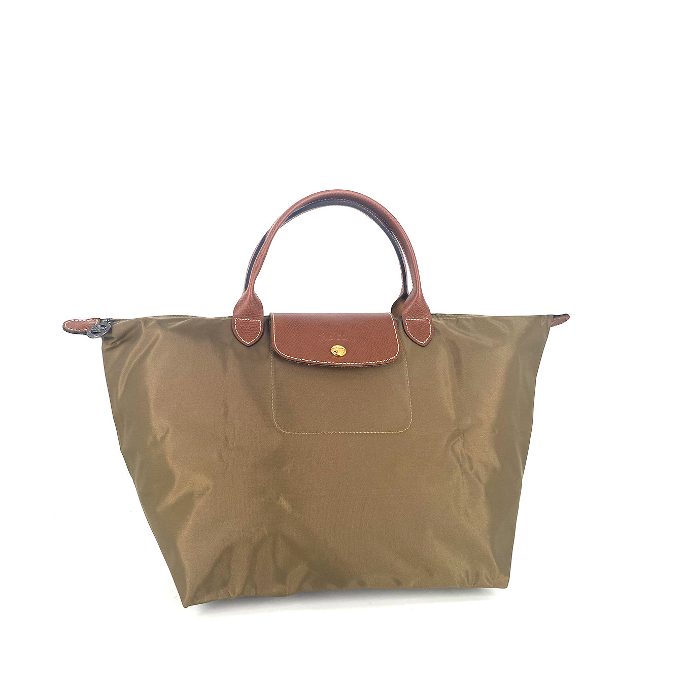 Longchamp Le Pliage Neo MSH in Brown