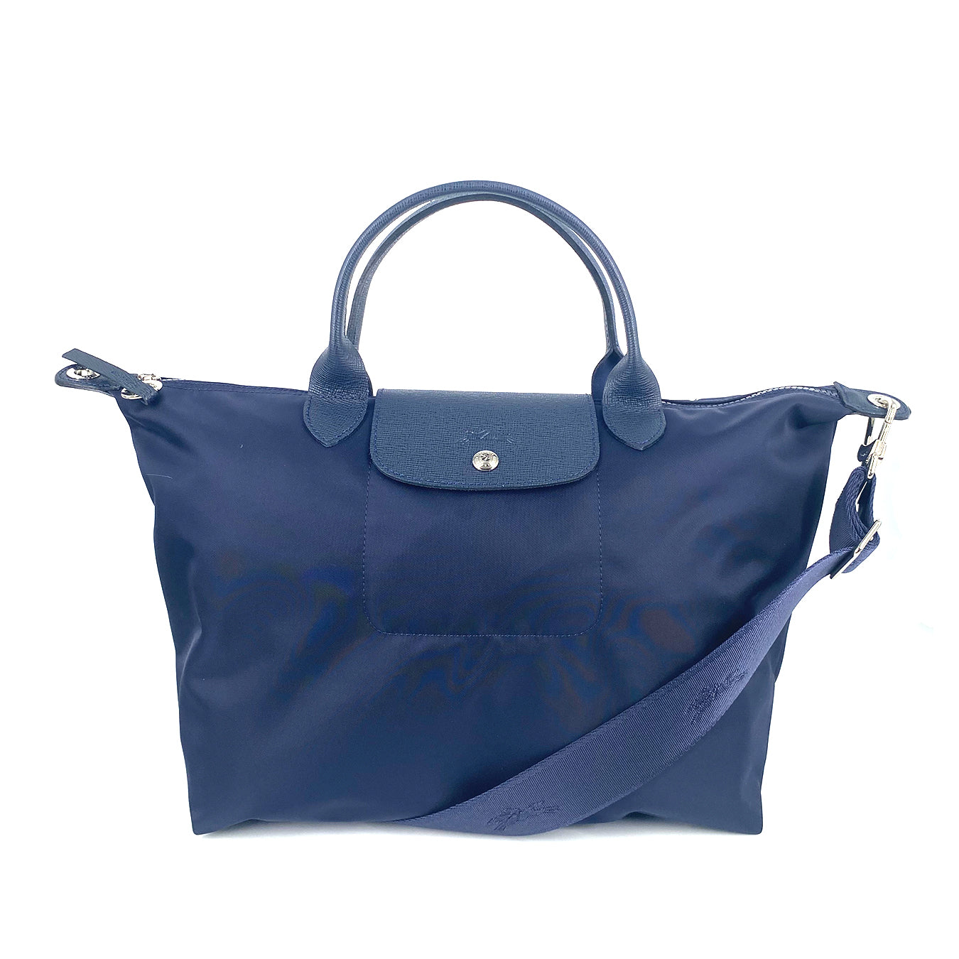 Longchamp Le Pliage Neo Medium Top Handle SH Navy