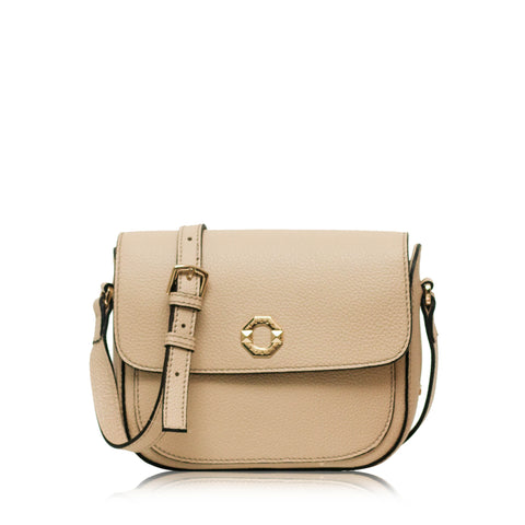 Olympia Cream Mini Crossbody Bag