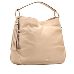 Nannini B10155-4 Institutional Leather Satchel Taupe