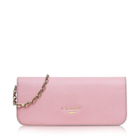 Nannini B10099-1 Pochette Dual Leather Rosa