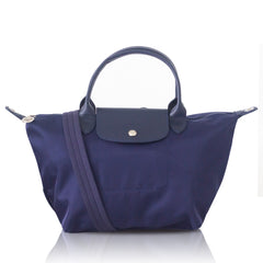 Longchamp Le Pliage Neo Small Top Handle SH Navy