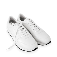 Bally Men's Sprinter 0/07 0300 White Calf Plain Sz 45