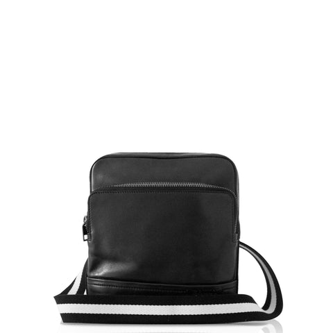 Bally Men's Tersel Calf Leather Crossbody in Black