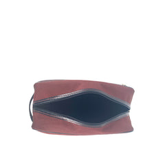 Longchamp Pouch Cosmetic Canvas Medium  in Red