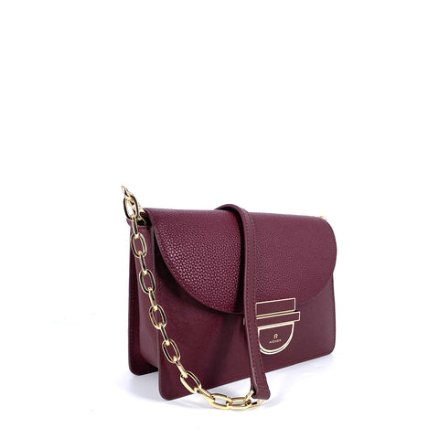 Aigner Cosima Crossbody Bag Burgundy