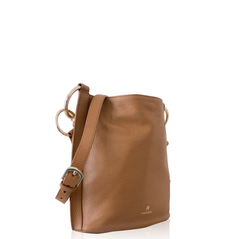 Aigner Baha Beutel Crossbody Brown