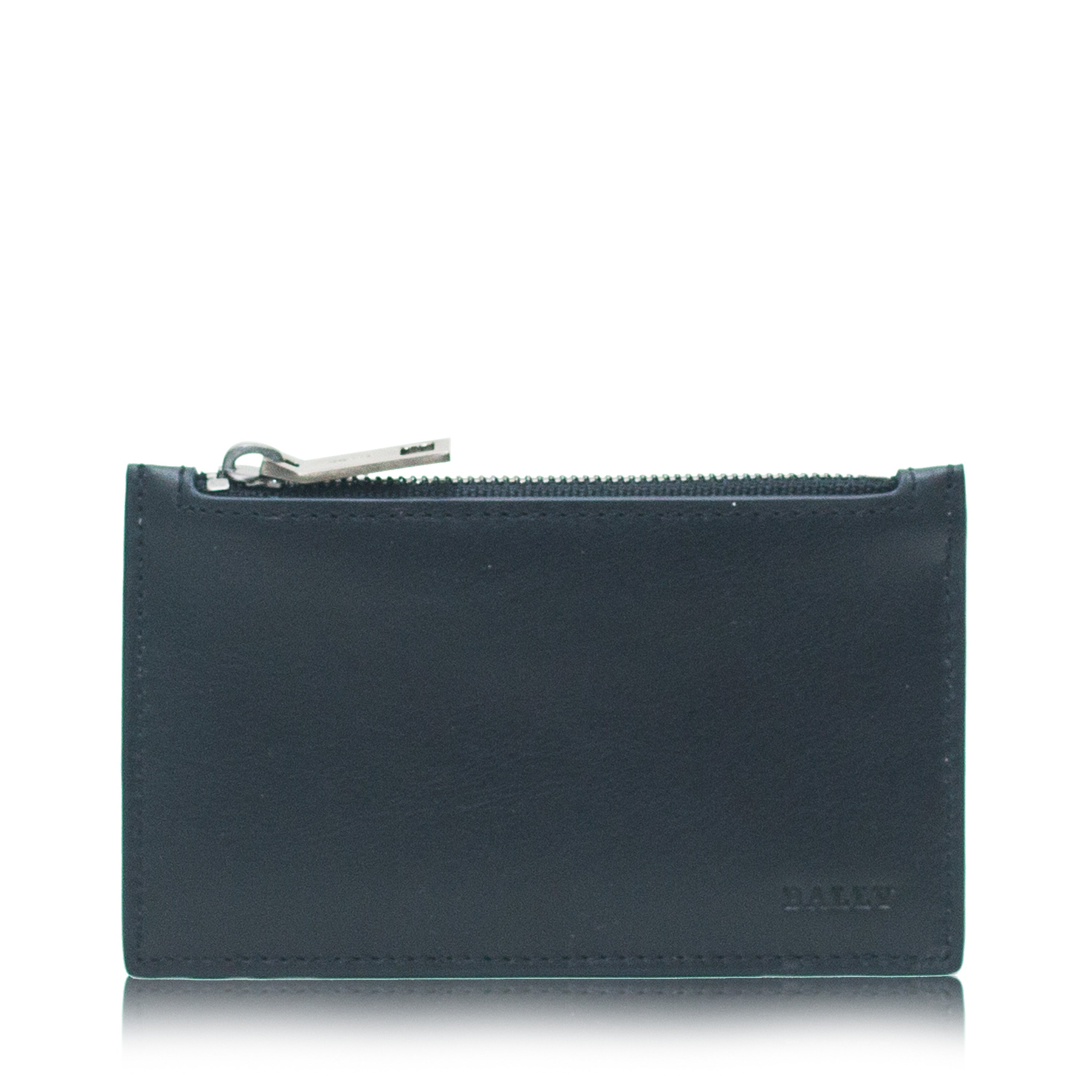 Tenley Men's Calf Plain Card Holder in New Blue