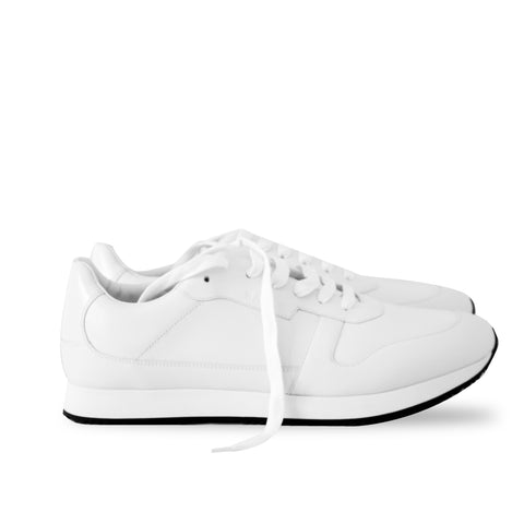 Men's Sprinter 0/07 0300 White Calf Plain Sz 45