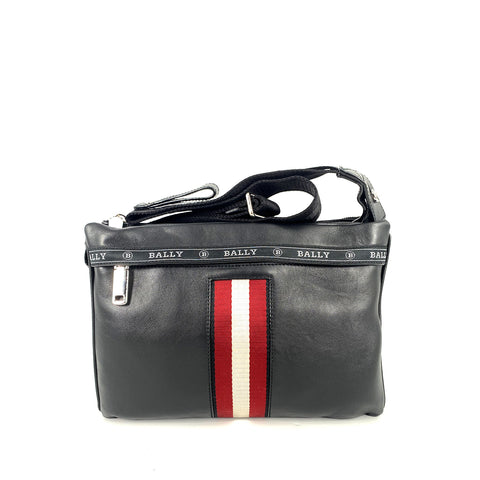 Bally Harvey Leather CrossBody Bag In Black
