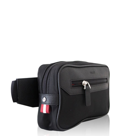 Waist Bag Black Nylon