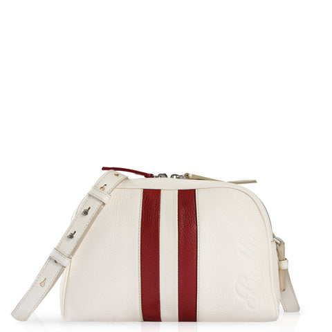 Talia Mini Crossbody Bag White