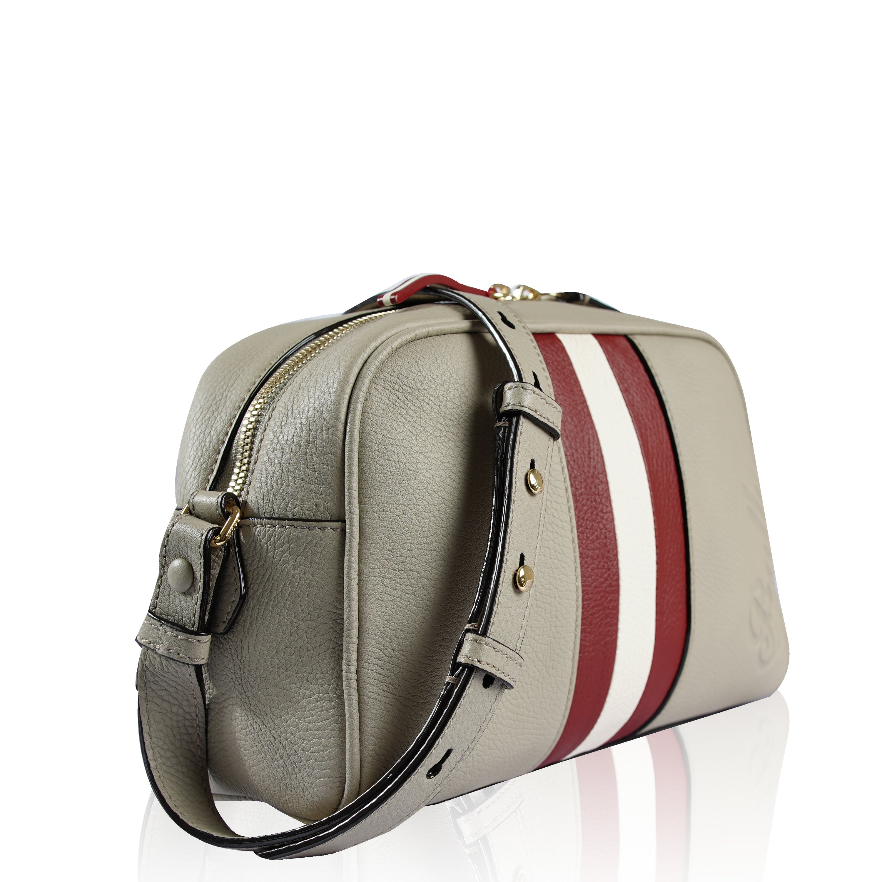 Bally Talia Mini Crossbody Bag Beige