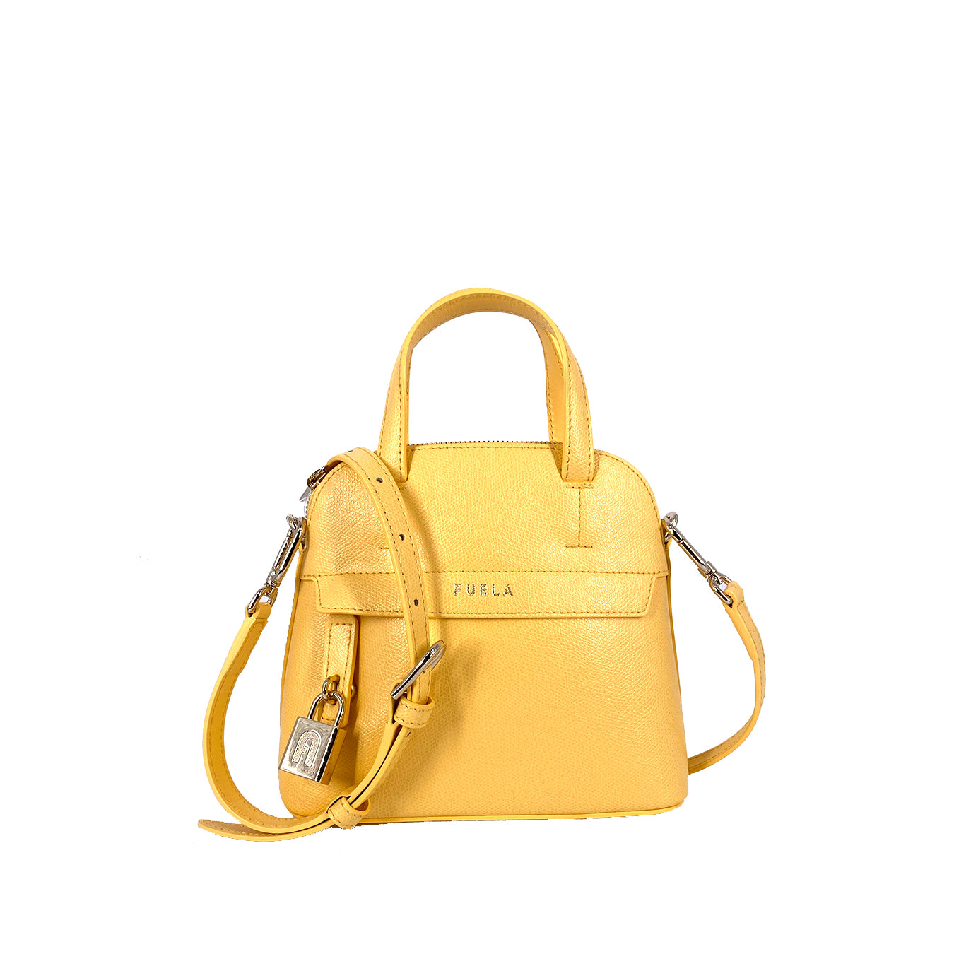 Furla Piper Dome Mini Top Handle Satchel Sole