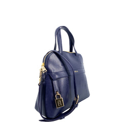 Furla Piper Dome Small Top Handle Satchel Ocean