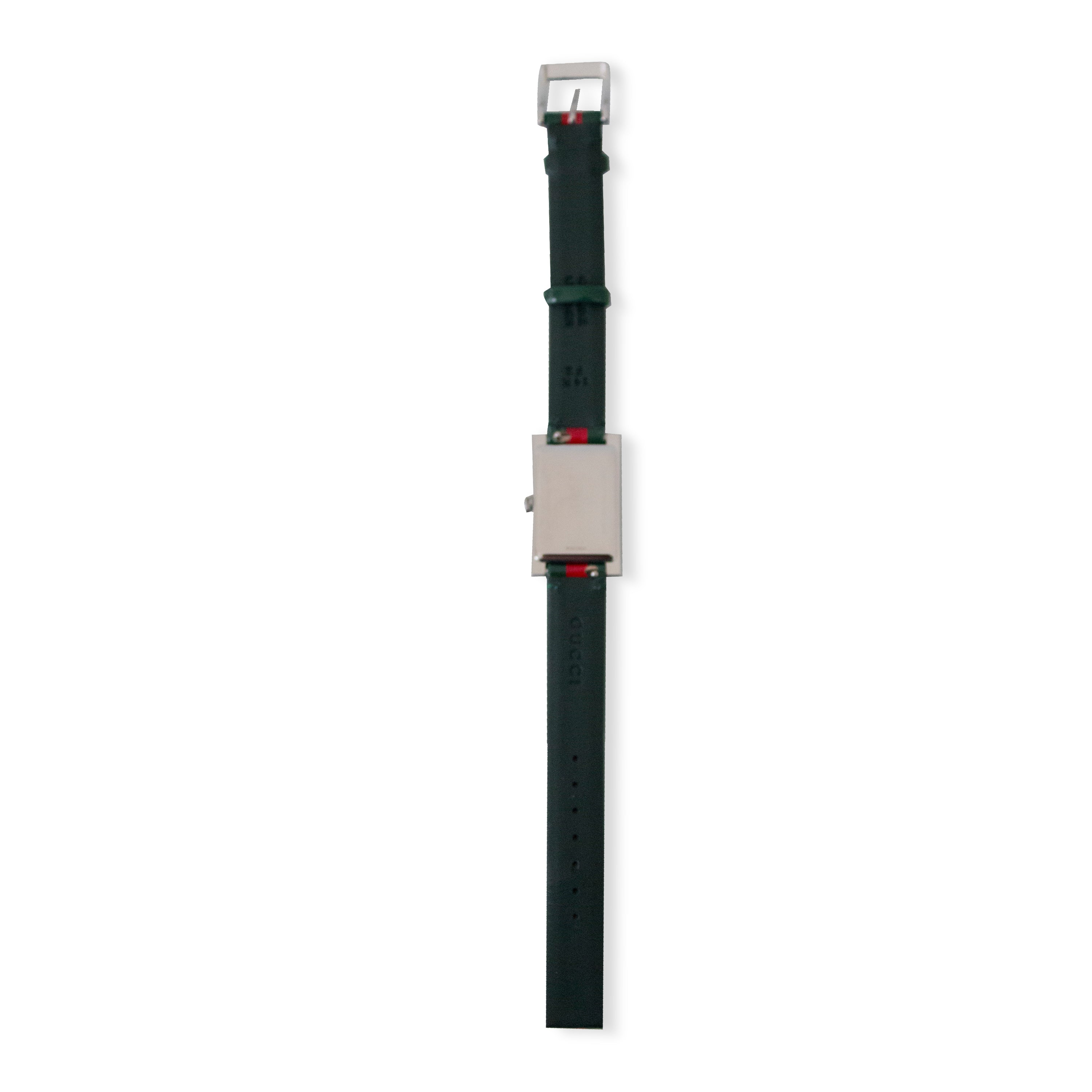 YA147408 G-Frame Quartz Ladies Watch with Green Red Strap