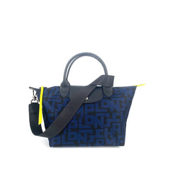 Longchamp Le Pliage LGP Small SH Black and Navy