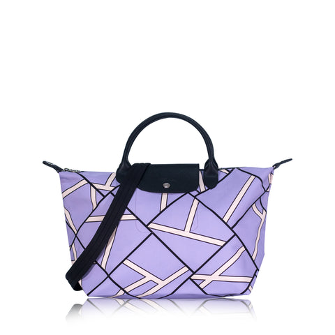 Le Pliage Neo Geo Medium SH Violet