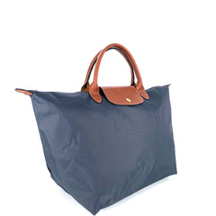 Longchamp Le Pliage Neo MSH in Dark Grey
