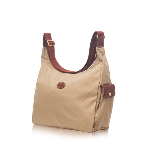 Longchamp Le Pliage Besache in Beige