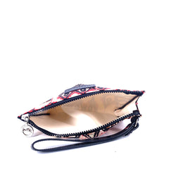 Longchamp Le Pliage Collection Ikat Pouch Small Ivory