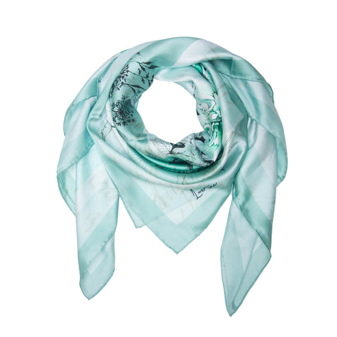 Soie Marrs Green Scarf