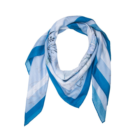 Fello Aquatic Floral Scarf