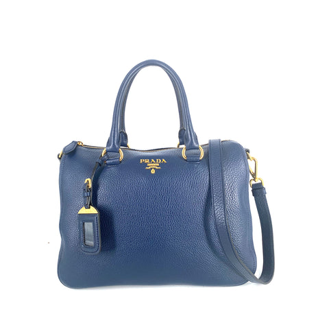 Prada 1BB023 Bauletto Vitello Phenix Speedy Baltico