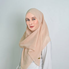 Voal Brown Milk Scarf