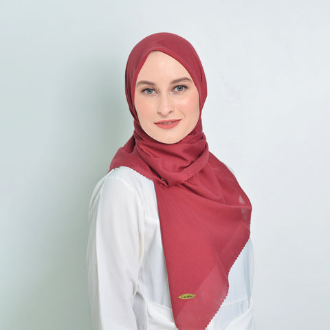Voal Maroon Scarf