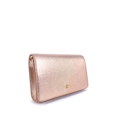 Tory Burch EMERSON COMBO CROSSBODY LIGHT ROSE GOLD
