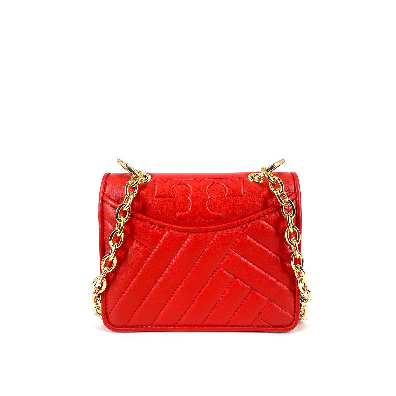 Tory Burch ALEXA MINI SHOULDERBAG POPPY ORANGE