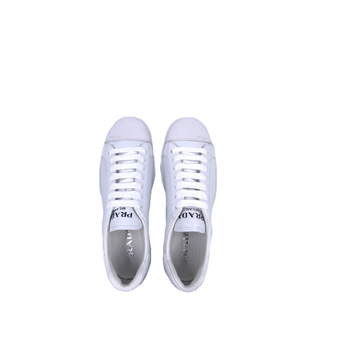 Prada 4E3539 Men Shoes Calzature Uomo White Size 7
