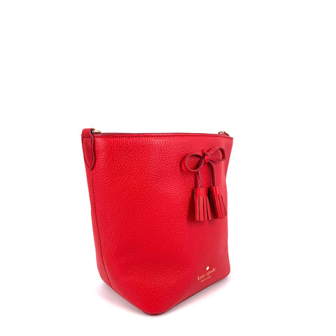 Kate Spade Vanessa Hayes Bucket Royal Red