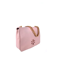 Tory Burch Lily Large Leather Shoulder Bag Shell Pink