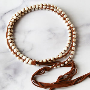 Load image into Gallery viewer, Classic Boho White (Mini Pearls)