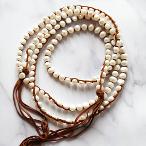 Load image into Gallery viewer, Classic Boho White (Small Pearls)