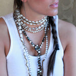 Classic Boho White (Small Pearls)