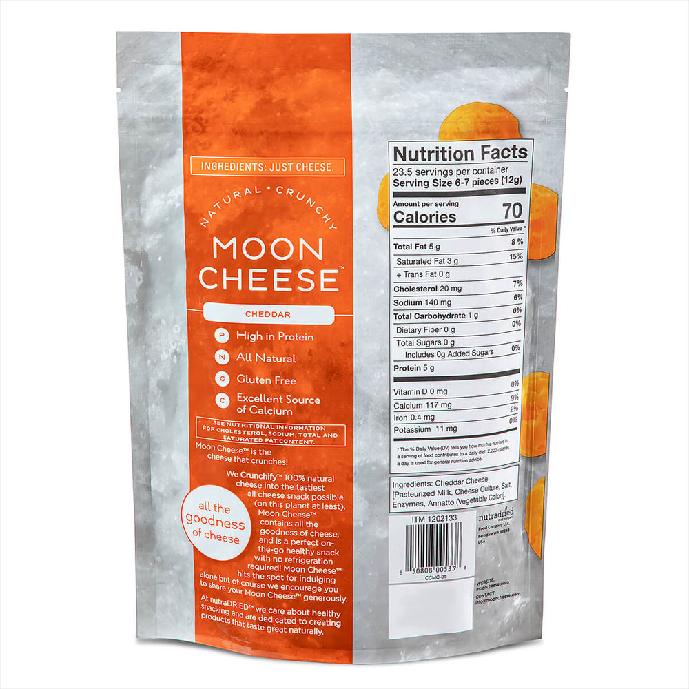 Moon Cheese Cheddar 10oz