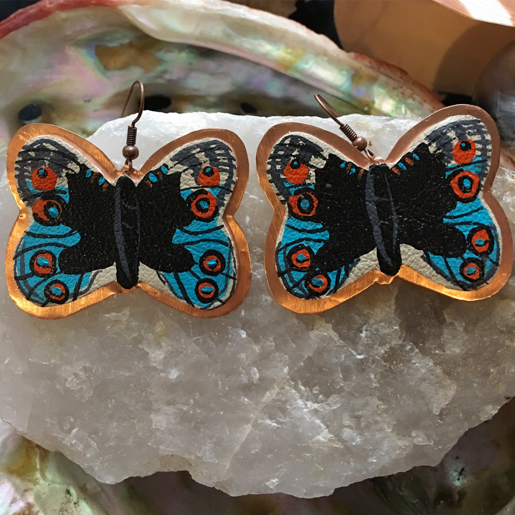 MARIPOSA | EARRINGS  Junonia Orithya