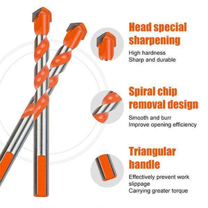 Ultimate Punching Drill Bits---Suitable for home use or commercial use!