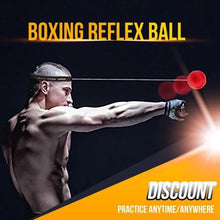 Load image into Gallery viewer, 【⚡Only $19.99 USD】BOXING REFLEX BALL HEADBAND