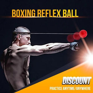 【⚡Only $19.99 USD】BOXING REFLEX BALL HEADBAND
