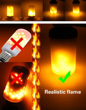 Load image into Gallery viewer, LED Flame Effect Flickering Fire