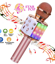 Load image into Gallery viewer, 4 in 1 Wireless Karaoke Microphone (Buy Two Free Shipping)